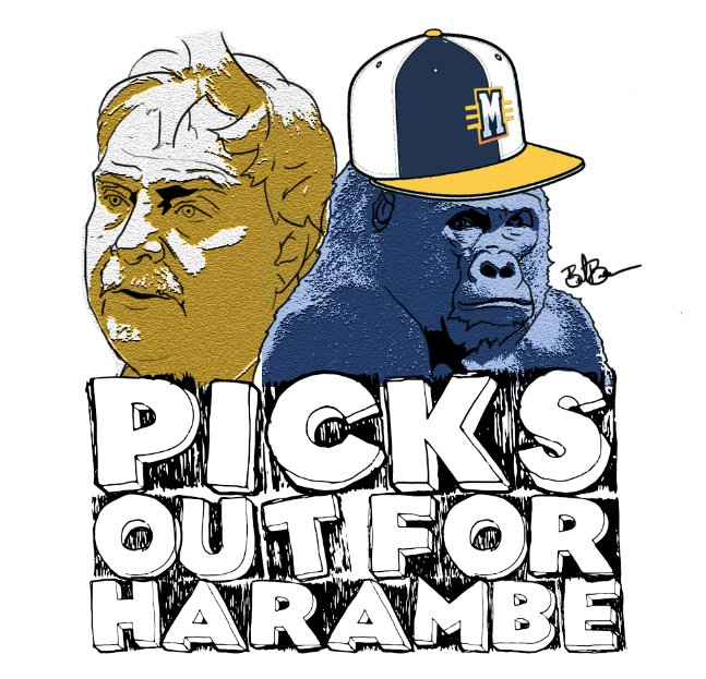 Picks Out for Harambe.