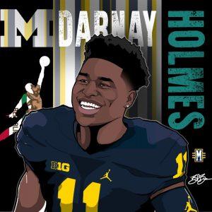 2017 CB Darnay Holmes. (art by Brandon Whitaker)