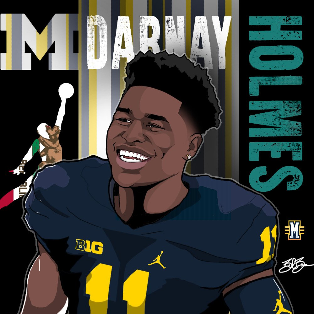 2017 CB Darnay Holmes. (art by Brandon Whitaker)