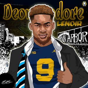 2017 CB Deommodore Lenoir (art by Brandon Whitaker)