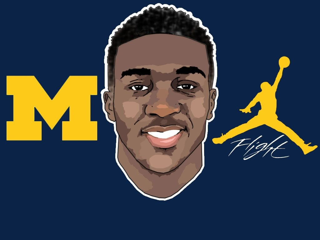 2016 commit CB David Long. (art by Brandon Whitaker)