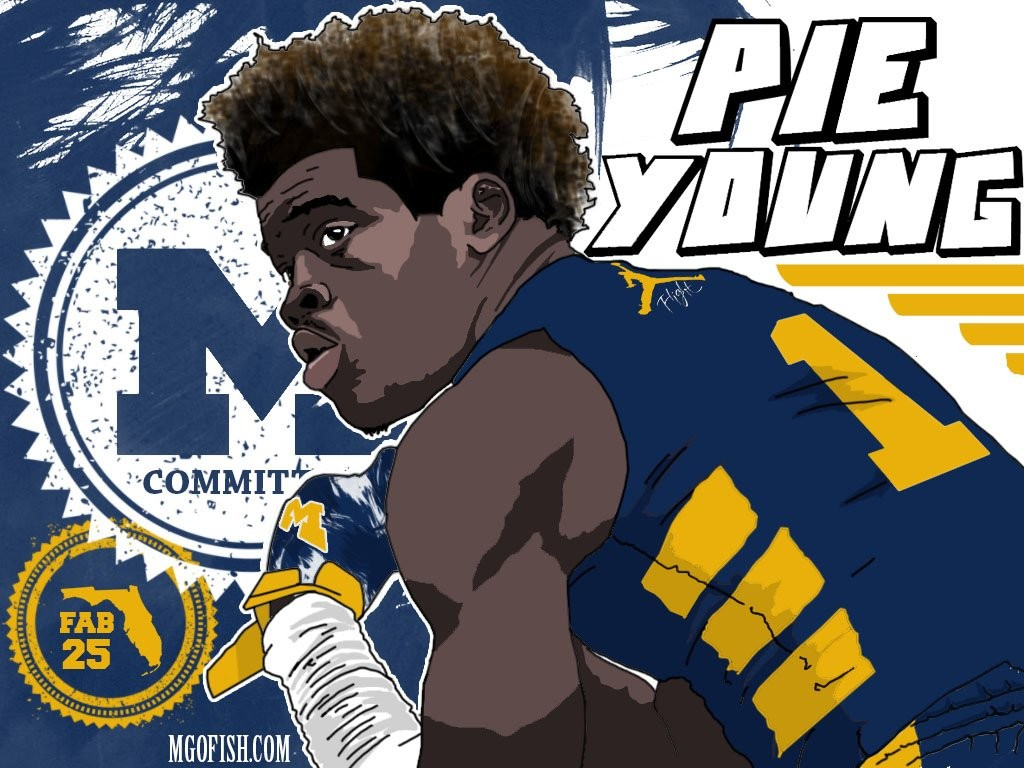 Keyshawn Young. (art by Brandon Whitaker)