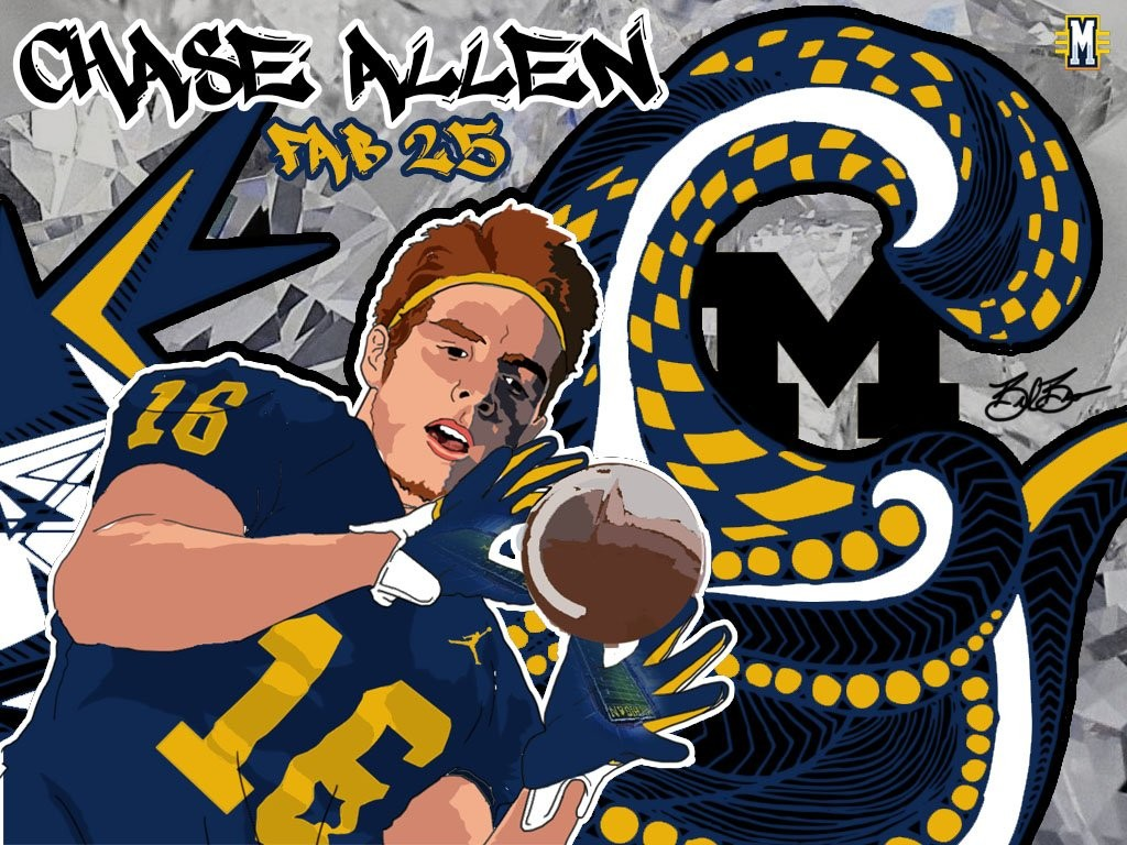 2016 TE Chase Allen. (art by Brandon Whitaker)