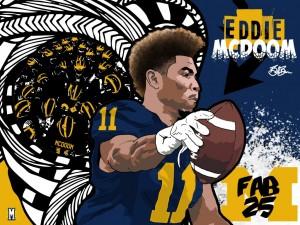 2016 WR Eddie McDoom (art by Brandon Whitaker)