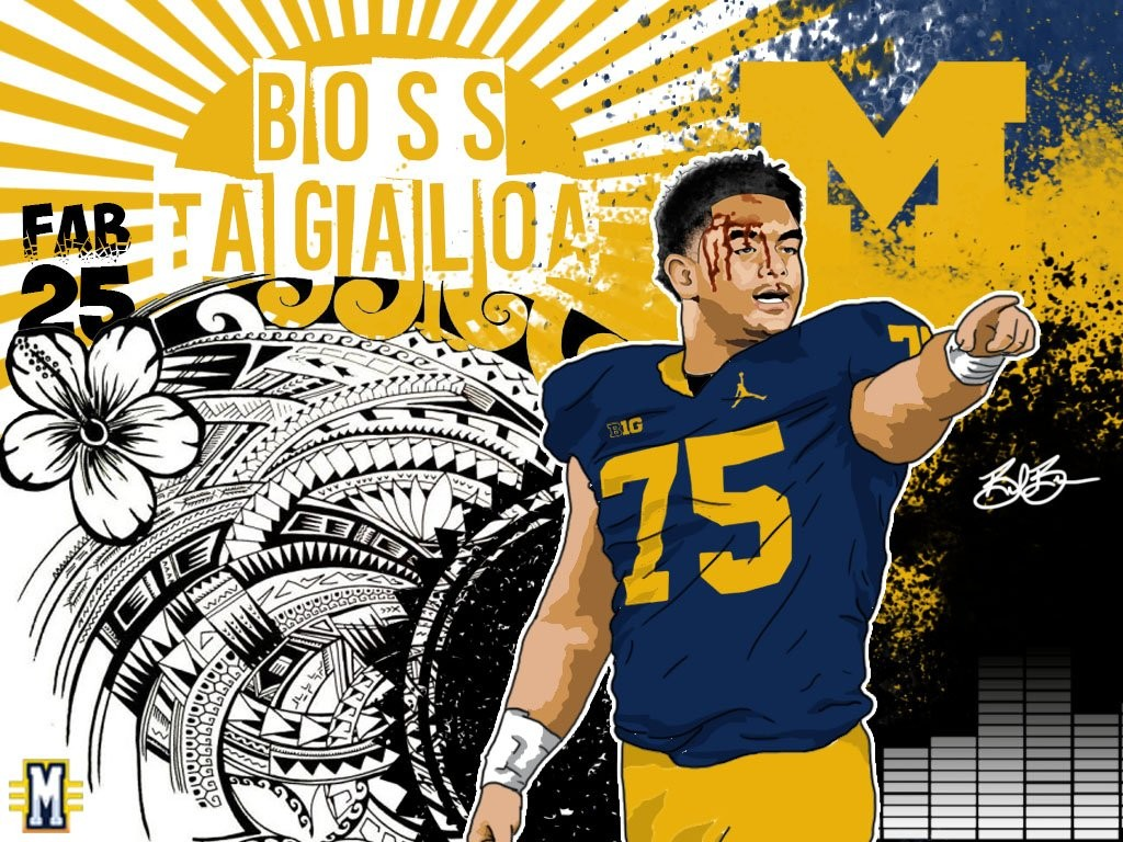 2016 DT/OL Boss Tagaloa. (art by Brandon Whitaker)
