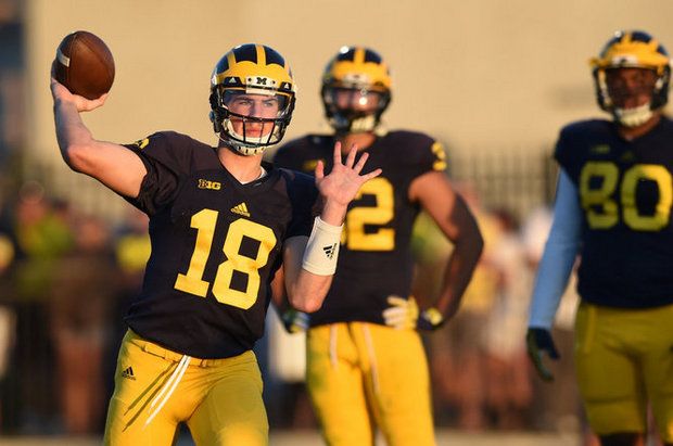 Image result for michigan football # 18