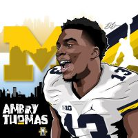 2017 ATH Ambry Thomas (art by Brandon Whitaker).