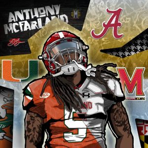 2017 RB Anthony Macfarland top 3 edit (art by Brandon Whitaker)