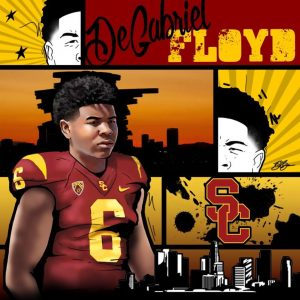 2019 LB DeGabriel Floyd commitment edit. (art by Brandon Whitaker)