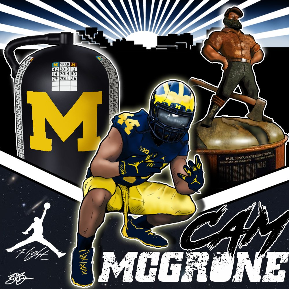 2018 LB Cameron McGrone (art by Brandon Whitaker)