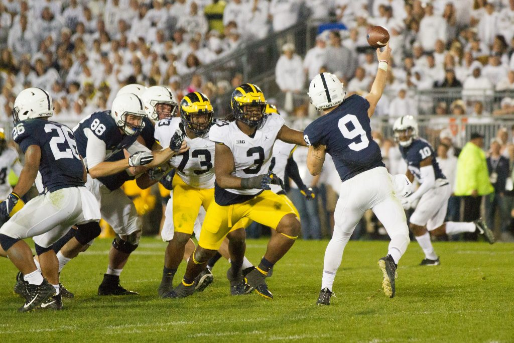 That was ugly 2017 michigan vs penn state game recap and for M go fish