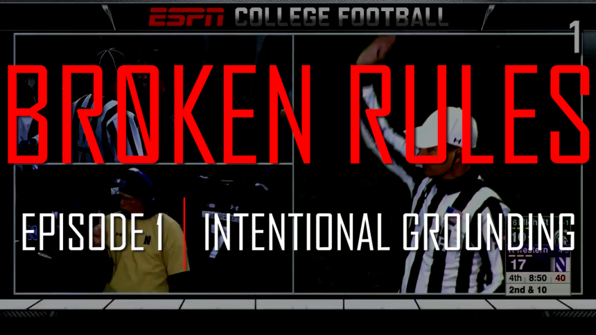 Broken rules episode 1 intentional grounding mgofish for M go fish