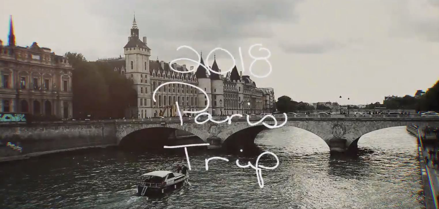 Video recap of Michigan Football's 2018 trip to Paris by Ty Rogers. (Photo Credit: Ty Rogers)
