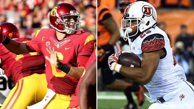 Utah vs USC. (via FoxSports.com)