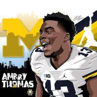 2017 ATH Ambry Thomas (art by Brandon Whitaker).